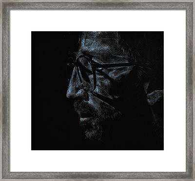 Slowhand Framed Print by Matthew Fredricey