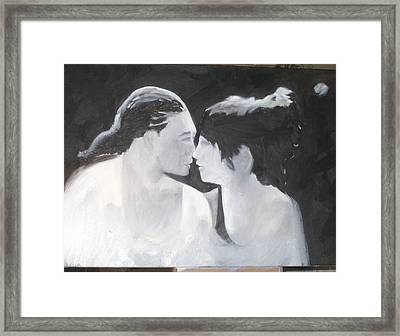 Slowly Captivated Framed Print by Keith Thue