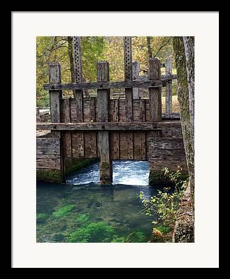 Ozark National Riverways Framed Prints