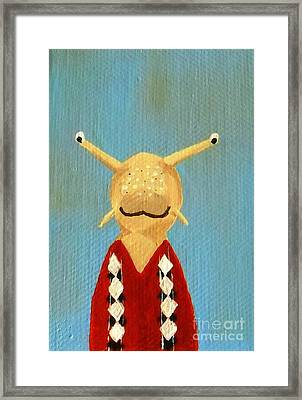 Slug's School Picture Framed Print