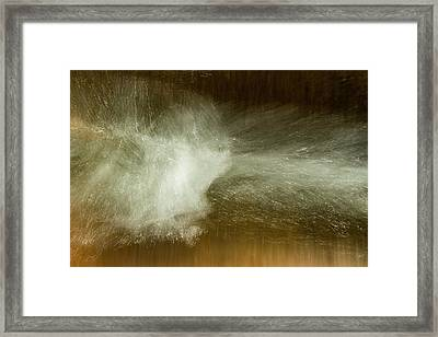 Framed Print featuring the photograph Sluice by Deborah Hughes