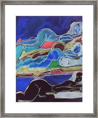 Slumber Framed Print by James Christiansen