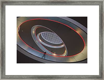 Sma Solar Technology Is Partially Framed Print by Michael Melford