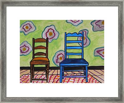 Small And Large Framed Print by John Williams