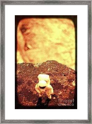 Small Astronaut  Framed Print
