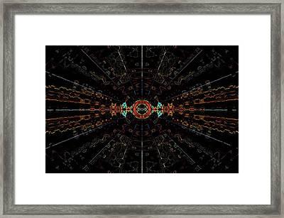 Small Bang Theory Framed Print by Alan Skonieczny