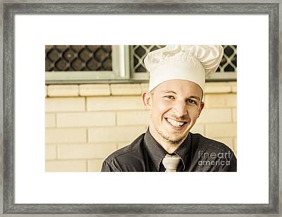 Small Business Owner Framed Print by Jorgo Photography - Wall Art Gallery