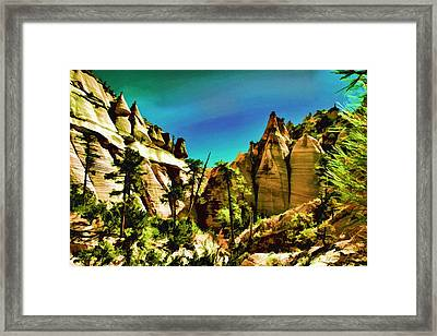 Small Canyon Framed Print
