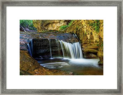 Small Cascade  Framed Print by James Marvin Phelps