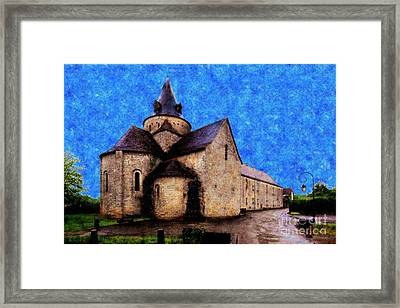 Small Church 1 Framed Print by Jean Bernard Roussilhe