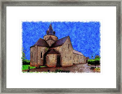 Small Church 2 Framed Print by Jean Bernard Roussilhe