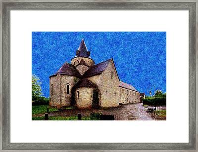 Small Church 3 Framed Print by Jean Bernard Roussilhe