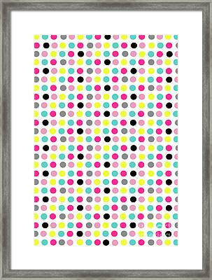 Small Dots Framed Print by Louisa Knight