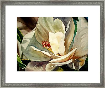 Small Gardenia Framed Print