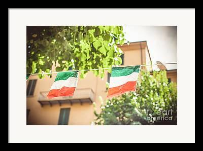 Italian Photographs Framed Prints