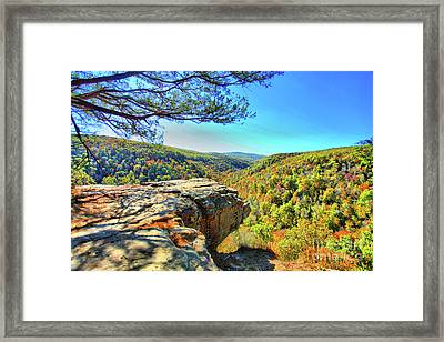 Small Overhang Framed Print by Kevin Kuchler
