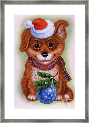 Small Puppy 15 Framed Print