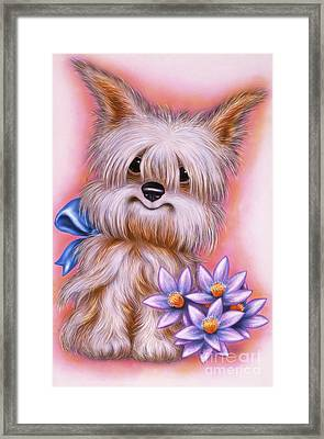 Small Puppy 16 Framed Print