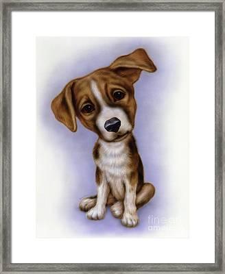 Small Puppy 4 Framed Print