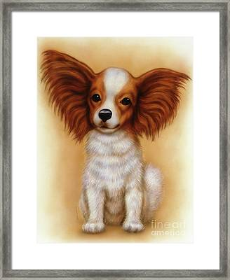 Small Puppy 6 Framed Print