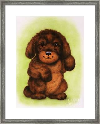 Small Puppy18 Framed Print