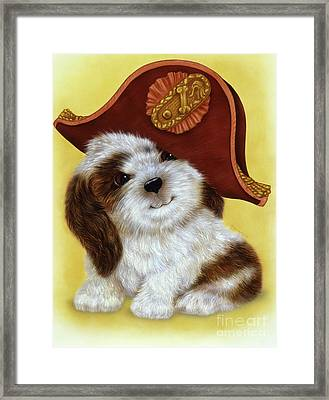 Small Puppy2 Framed Print