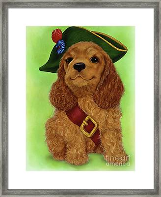 Small Puppy3 Framed Print
