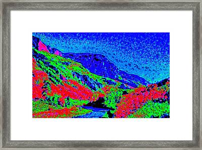 Small River Valley D3 Framed Print by Modified Image