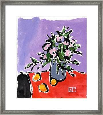 Small Still Life Framed Print by Helen Pisarek