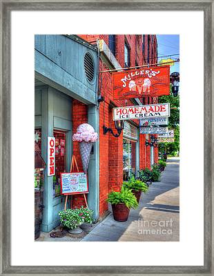 Small Town America 2 Framed Print