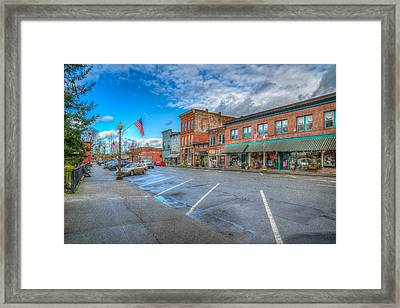 Small Town America Framed Print by Spencer McDonald