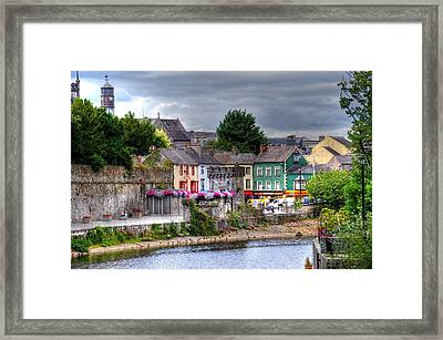 Small Town Ireland Framed Print