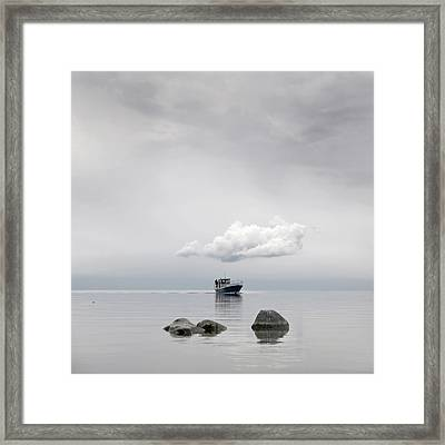 Small Vessel Framed Print by Valmar Valdmann
