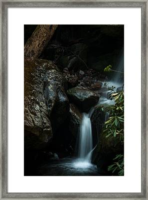 Small Waterfall Framed Print