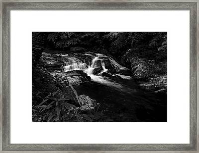 Small Waterfalls Framed Print