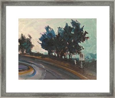 Small Work 9 Framed Print
