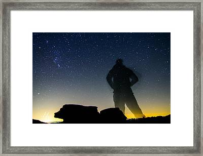 Small World Big Universe Framed Print