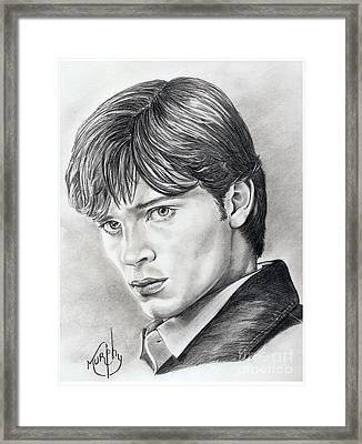 Smallville  Tom Welling Framed Print