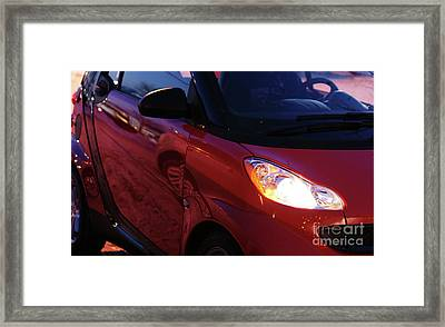 Smart Framed Print by Linda Shafer