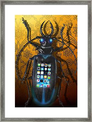 Smart Phone Framed Print by Larry Butterworth