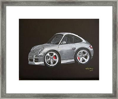 Smart Porsche Framed Print by Richard Le Page