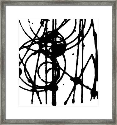 Smashing Atoms Number 2 Framed Print by Keith Francis