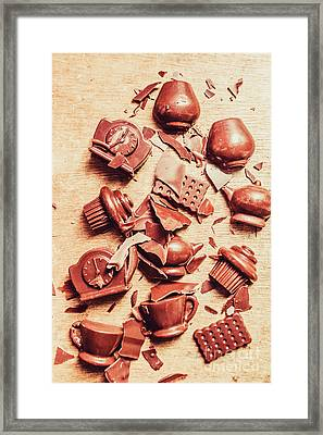 Smashing Chocolate Fondue Party Framed Print by Jorgo Photography - Wall Art Gallery