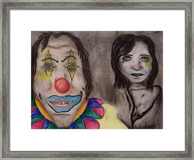 Smeared Framed Print by Erin Hope