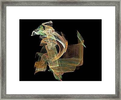 Smears Framed Print by Thomas Smith