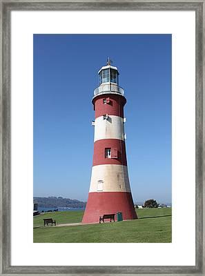 Smeaton's Tower Framed Print by Lauri Novak