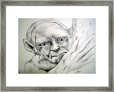 Smeggle Framed Print by Lilly King