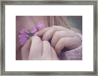 Smell Life - V05t Framed Print