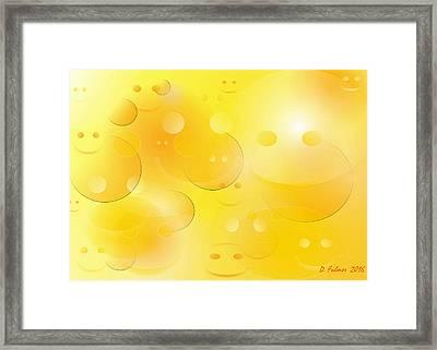 Smile Framed Print by Denise Fulmer