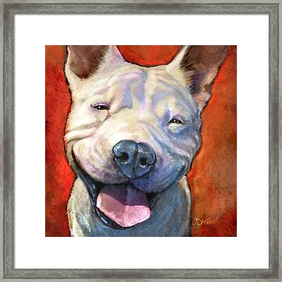 Smile Framed Print by Sean ODaniels